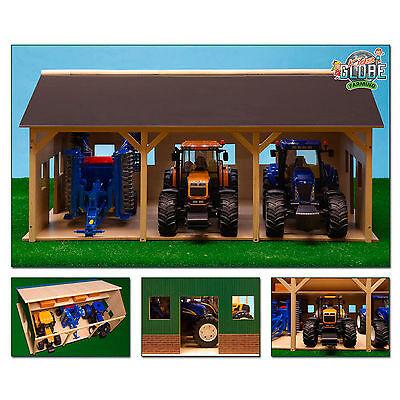 917185 Van Manen 610340 Bauernhof Schuppen Scheune Holz für Traktoren 1:16