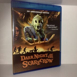 DARK NIGHT OF THE SCARECROW (1981) Blu-ray / RARE & OOP Horror Film