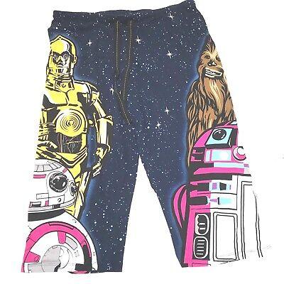 Star Wars Sleepwear Womens Size XL 16-18 Cotton Graphics Crop PJ Bottoms - Star Wars Pj