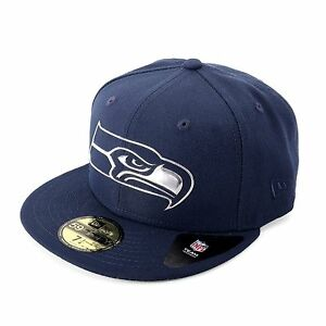 New-Era-Remix-Liquid-Seattle-Seahawks-Gorra-Ajustada-gorra-azul-marino-93203