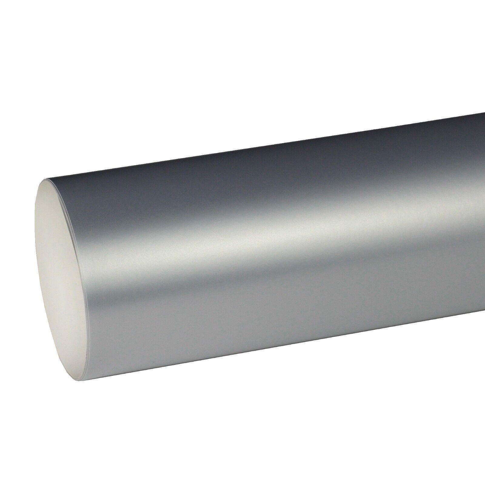 4,99€//m² Plotterfolie ORACAL 351 001 Chrom Silber 5m x 63cm Glanz Folie Orafol