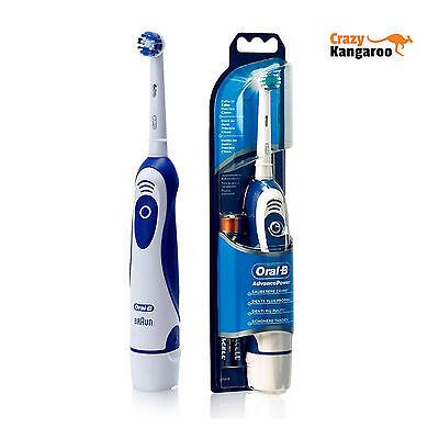 Ηλεκτρική οδοντόβουρτσα Braun Oral B Advance Power DB4010 - Περιλαμβάνονται μπαταρίες