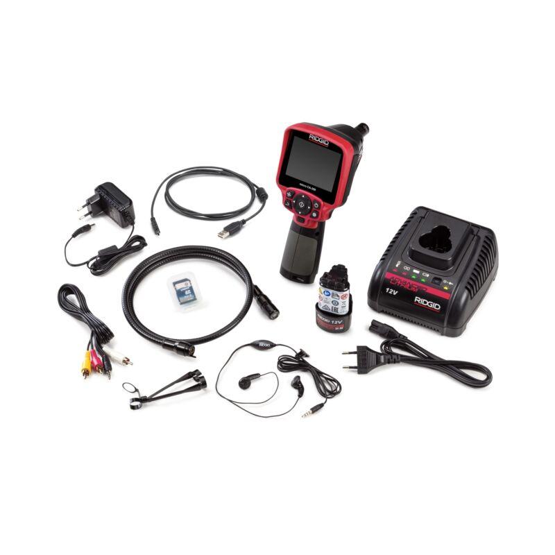 "Ridgid 55898 Micro CA-350 Inspection Camera, 3.5"" Monitor Size"