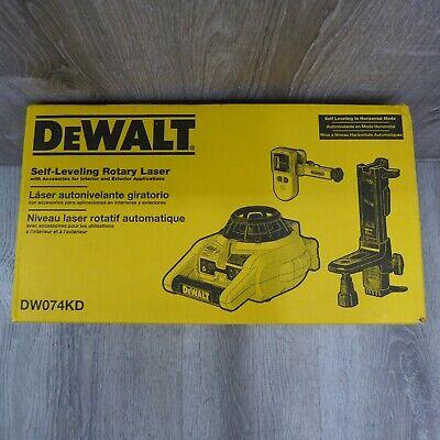 Dewalt Self Leveling Rotary Laser Dw074kd Interior Exterior Nice