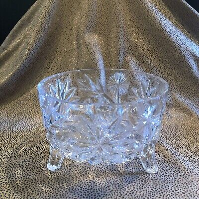 Saw Tooth Edge Rim and Etched Flowers in the Bowl. Hand Wrought Aluminum Bowl for Nuts or Trinkets Bowl has Scalloped Ruffled Edge