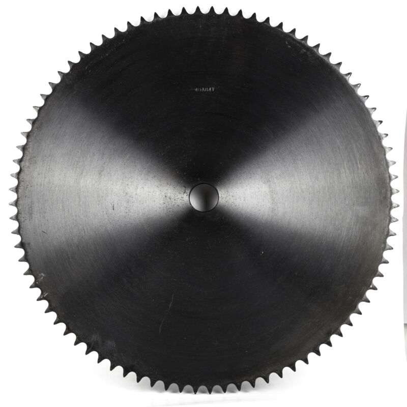"""40A84T-1"""" Bore 84 Tooth Plate Sprocket for 40 Roller Chain"""