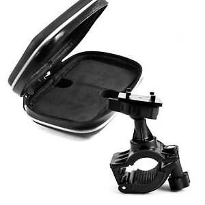 GPS-SAT-NAV-MOBILE-WATERPROOF-LEATHER-CASE-MOUNT-HOLDER-FOR-MOTOR-BIKE-CYCLE-Z40