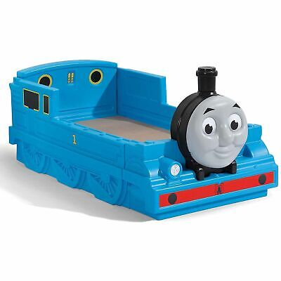 Thomas the Tank Engine Plastic Toddler Bed Blue I Think I Can