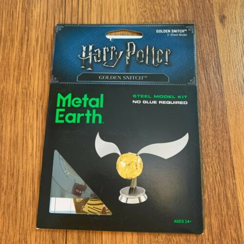 Metal Earth Harry Potter Golden Snitch 3D Steel Model Kit Fascinations