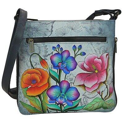 Anuschka Expandable Travel Crossbody - 550-FFY - Floral Fantasy