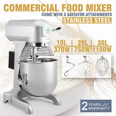 Stainless Steel Food Mixer 3 Speeds Dough Blender 6l9l20l30l