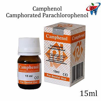 Dental Endodontic Root Canal Treatment Solution Camphenol Disinfection 15ml