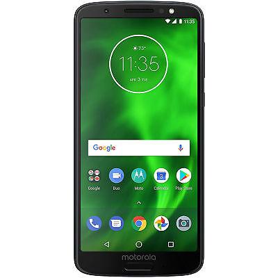 Motorola G6 XT1925 Dual SIM 4G LTE Factory Unlocked Android 12 MP Phone - Blue