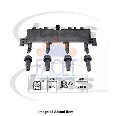 New Genuine FACET Ignition Coil 9.6370 Top Quality