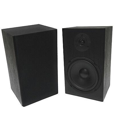 "2 Pack TDX 6.5"" 2-Way Bookshelf Home Theater Audio Speaker P"