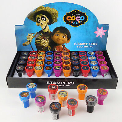 Disney Coco Self Inking Stamps Birthday Gift Party Favors Bag Filler - Disney Gift Bag