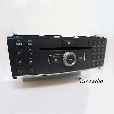 Original Mercedes W204 Radio ZB Bedienteil Headunit MP3 C-Klasse X204 GLK-Klasse