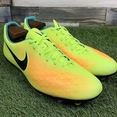 UK9 Nike Magista Ola II FG Football Boots - Bright Yellow - Moulded Studs EU44