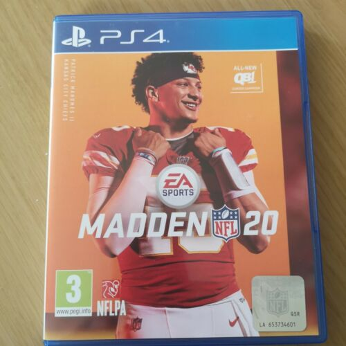 MADDEN NFL 20 PS4 PlayStation 4 GAME