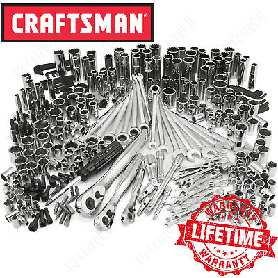 Craftsman 311 Draft Mechanic Tool Set, 75T Household Ratchet Socket Hand Wrench