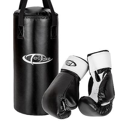 Kit sac de frappe gant de boxe enfant équipement ensemble sport combat fitness