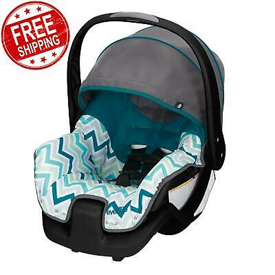 Evenflo Infant Car Seat Lightweight Convenient & Comfort Carine Blue FREE SHIP