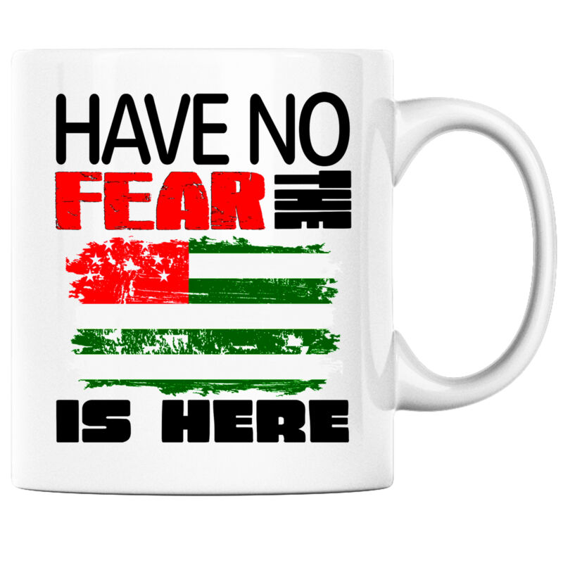Have No Fear the Abkazian is Here Funny Coffee Mug Abkazia Heritage Pride