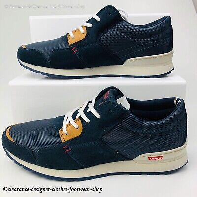 LEVIS NY RUNNER TRAINERS CITY SNEAKERS MENS CASUAL EVERDAY SHOE UK 7.5 RRP £100