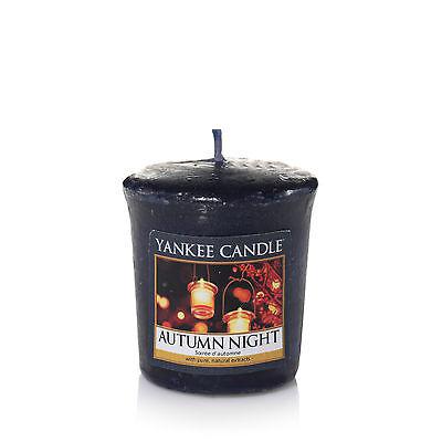 YANKEE CANDLE candela profumata votiva Autumn Night durata 15 ore