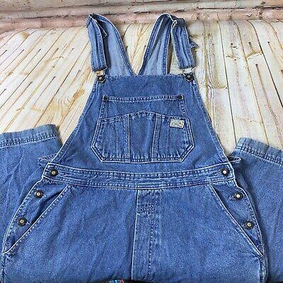 Vintage Overalls & Jumpsuits Vintage Bugle Boy Womens Size 12 Overalls Painter Farmers Bib Jeans Denim Pants $39.99 AT vintagedancer.com