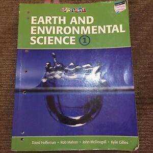 Preliminary Earth and Environmental Science Spotlight Textbook Belmont Lake Macquarie Area Preview