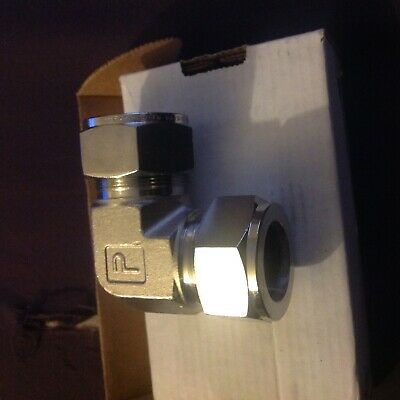 - Parker 316 Stainless SteEl Tube Compression 90 Deg. Elbow Union 16EE16-316 A-LOK