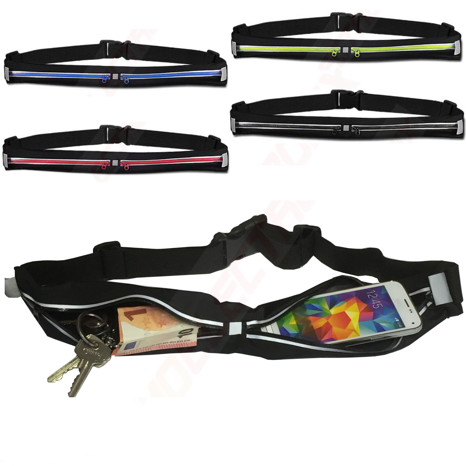 Sport Hüfttasche Handy Lauftasche Bauchtasche für Acer Liquid Z6 Plus Jade Z Z6 Bauch- & Gürteltaschen