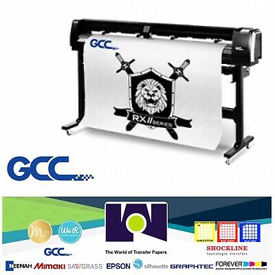 Gcc Rxii- 61creasing Vinyl Cutter For Sign And Htv 24 61 Cms Free Shipping