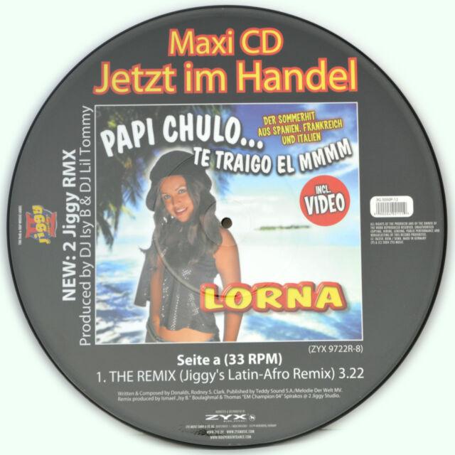 Picture Vinyl Lorna Papi Chulo...Te Traigo El MMM   Rare  Limited Edition