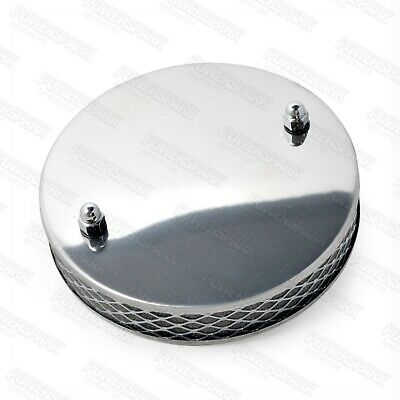 Pancake High Air Flow Chrome Air Filter For SU HS4 1½ Inch Carburettor