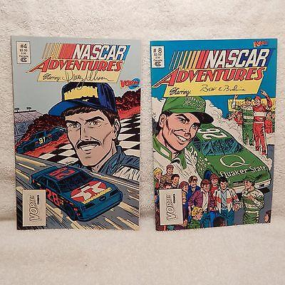LOT OF 2 NASCAR ADVENTURES COMIC'S (#3)