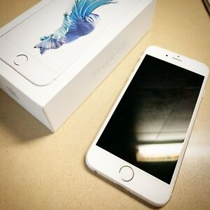 iPhone 6s 64Gb Silver with earphone great condition