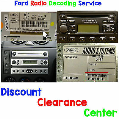 Mondeo Focus Escort Fiesta Pioneer CD MP3/USB AUX Car Radio for Ford Cougar