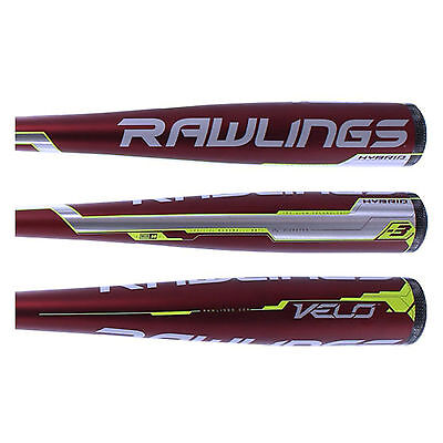 2017 Rawlings BB7V 33/30 Velo BBCOR Baseball Bat (-3oz)