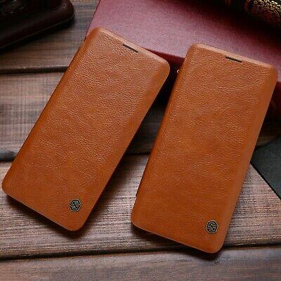 Samsung Galaxy S8 S9 Plus Flip Card Slot Nillkin Wallet Leather Hard Case Cover
