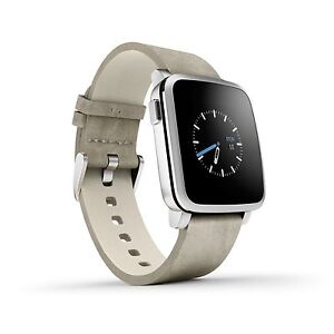 Pebble Time steel. Montre intelligent  Saguenay Saguenay-Lac-Saint-Jean image 2