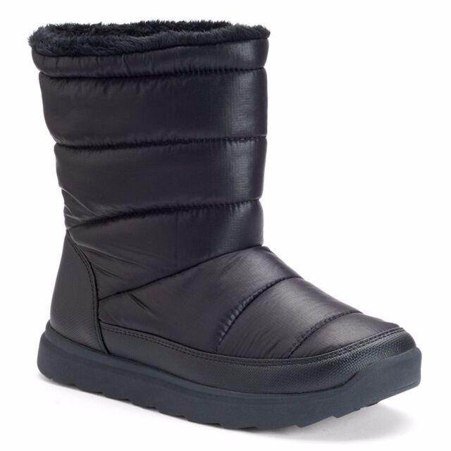 TEK Gear Hazel Snow BOOTS Black Women's Size 10 Winter Puff 601 TG ...