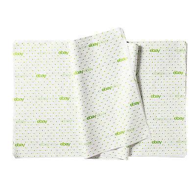 "Classic - Green Polka Dot eBay Branded Tissue Paper 20"" x 30"""