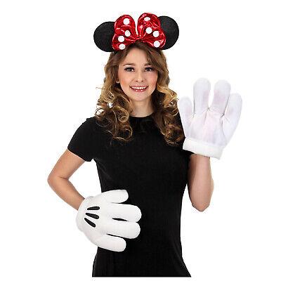Adult Child Womens Minnie Mouse Halloween Costume Glitter Headband