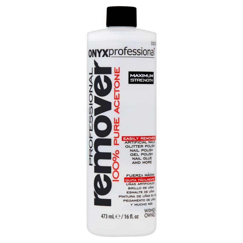 (New) Onyx Professional 100% Acetone Nail Polish Remover 16oz