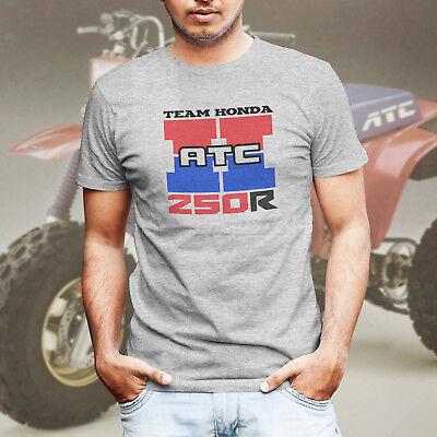 Team ATC Honda 250R Big Red 3 Wheeler Race T-Shirt Retro Vintage Styl Tee Shirt