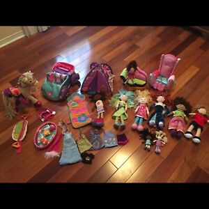 Large lot of Groovy Girl items