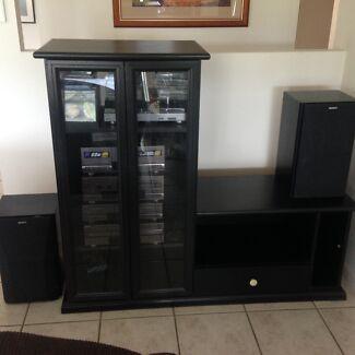 Sony LBT-A50 Hi-Fi System (Including Cabinet)