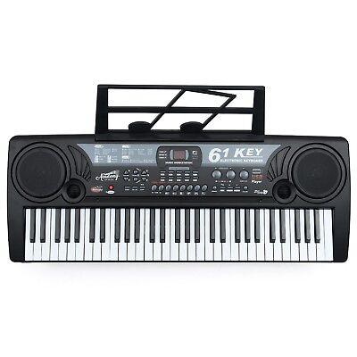 Toyrific Kids Academy Of Music 61 Key Electric Keyboard Musical Instrument Piano